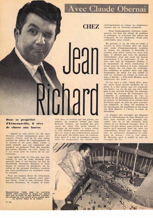 Chez Jean Richard depuis des années 60