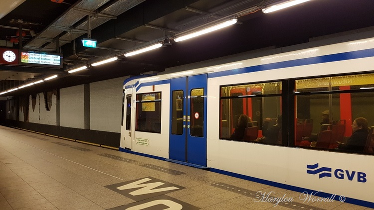 Pays-Bas : Le Métro d'Amsterdam