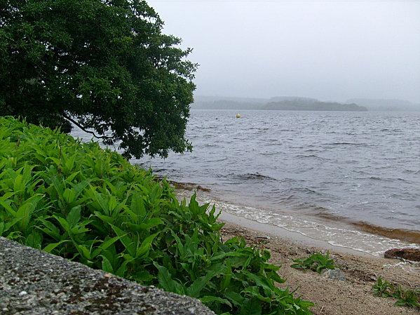 Vent fort sur le lac de Brennilis - Lenaïg