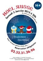 SAMEDI 3 JANVIER 2015 à 20h - Soirée de Noël Russe