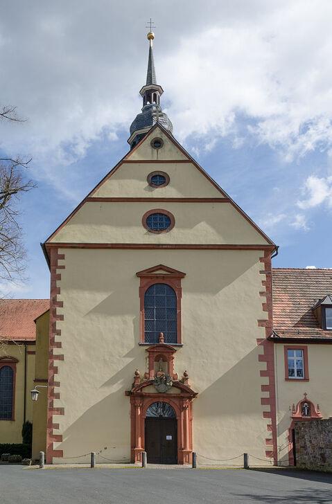 Hammelburg, Am Schloßberg, Klosterkirche-001.jpg