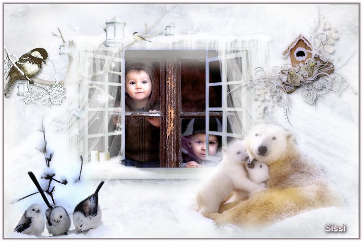 * Hiver Frame * Atelier Marie Clo *