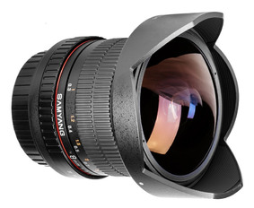 SAMYANG Fisheye 8 mm f3.5 UMC CS II