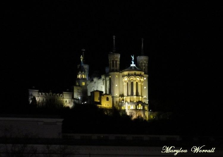 Lyon by night 5/6 : Basilique Notre-Dame de la Fourvière