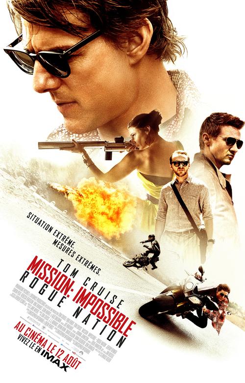 MISSION : IMPOSSIBLE – ROGUE NATION avec Tom Cruise - la bande-annonce VF et VOST - Au cinéma le 12 août 2015
