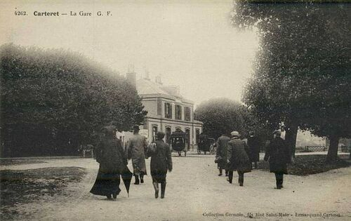 La gare de Carteret