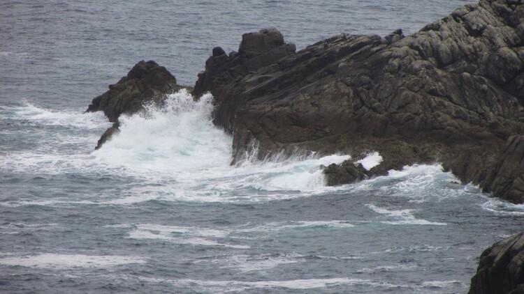 La mer et les rochers
