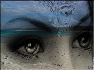 La mer, au fond de tes yeux ...