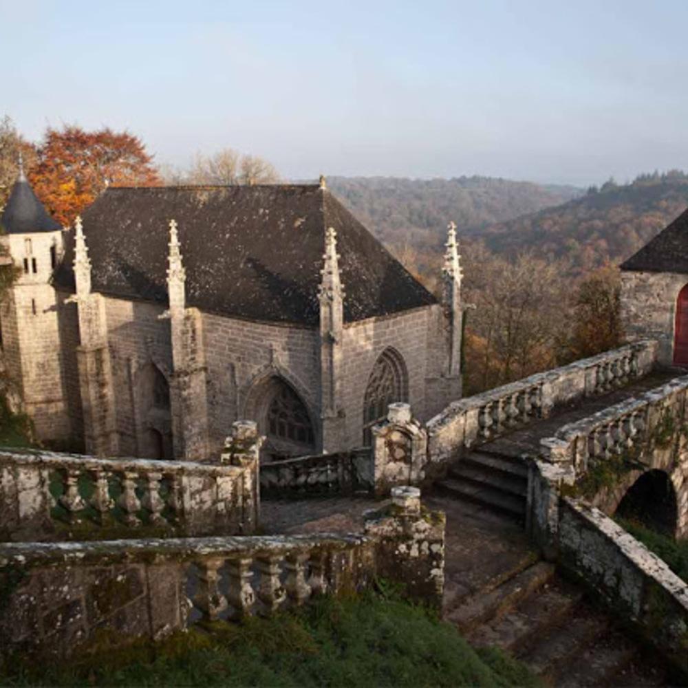 Faouët - chapelle sainte barbe oratoire