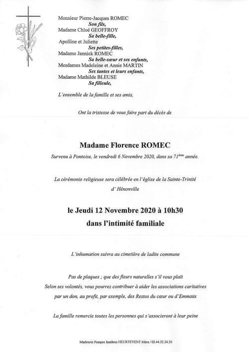 Florence Romec