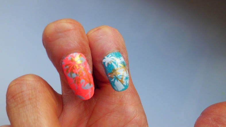 Nail Art Stamping Flamingo -Born Pretty BP-L076