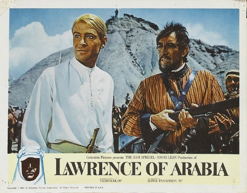LAWRENCE D'ARABIE - PETER O'TOOLE BOX OFFICE 1963