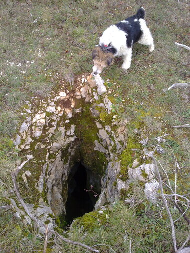 Grotte du chateau d'eau