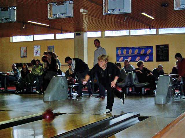 Dimanche 13 janvier 2008, bowling à Amfreville la Mivoie