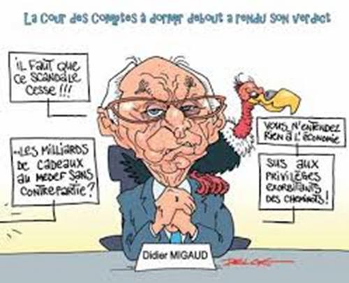Didier Migaud et la Cour des comptes à la rescousse de Macron en perdition