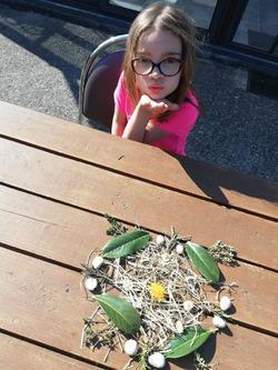 -Suite des photos des défis relevés par les enfants...
