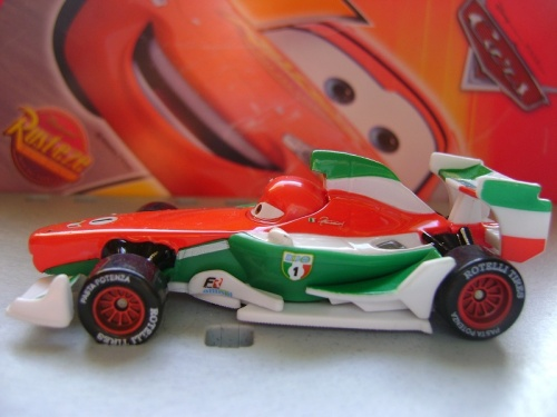 FRANCESCO BERNOULLI (Cars 2)