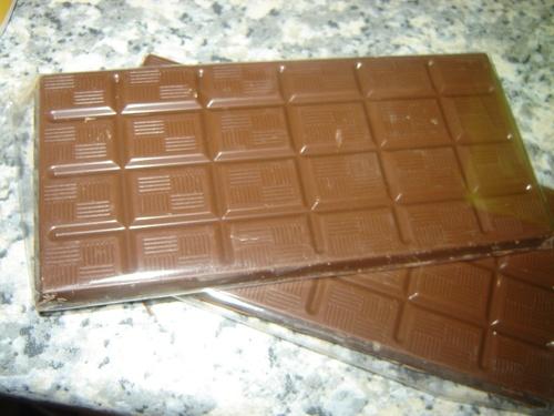 Chocolats moulés