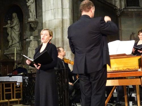Un magnifique concert de Noël par le Choeur de Haute Côte d'Or, le Concert de l'Hostel Dieu et l'Irréductible Morvandelle en l'église Saint Nicolas de Châtillon sur Seine...