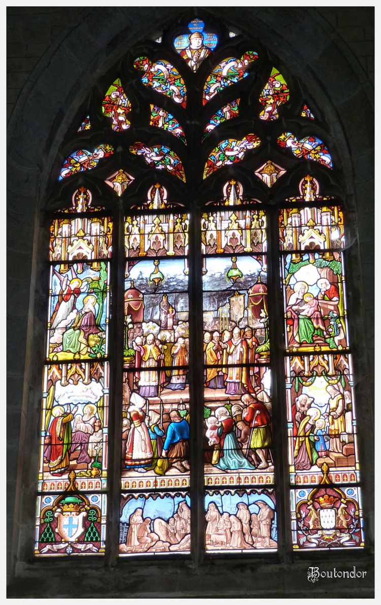 Josselin - l'église