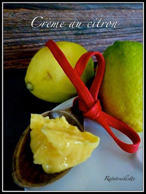 Crème au citron au Thermomix ou non