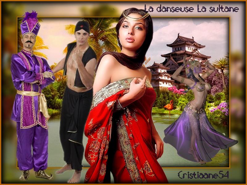 Défi pour Marjolaine la danseuse la sultane ,