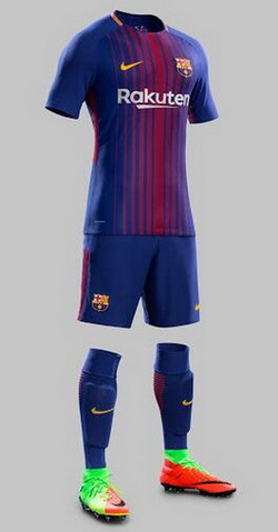 Maillot Barcelone 2017 2018 pas cher