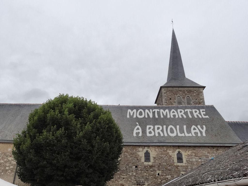 Montmartre à Briollay (49)