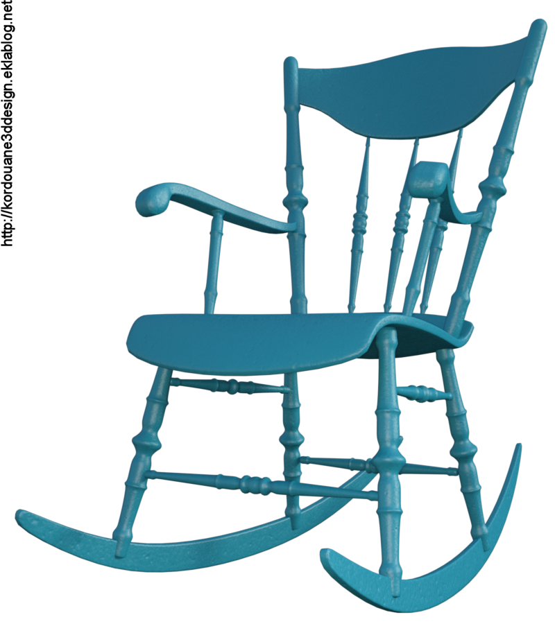 Image de rocking-chair (tube-render)
