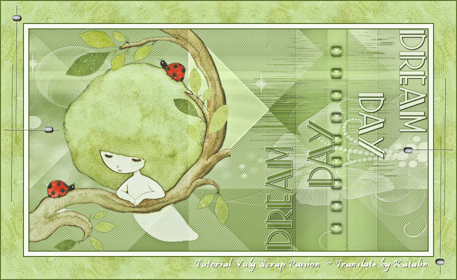 Tutorial Valy Scrap Passion ~ Dream Day