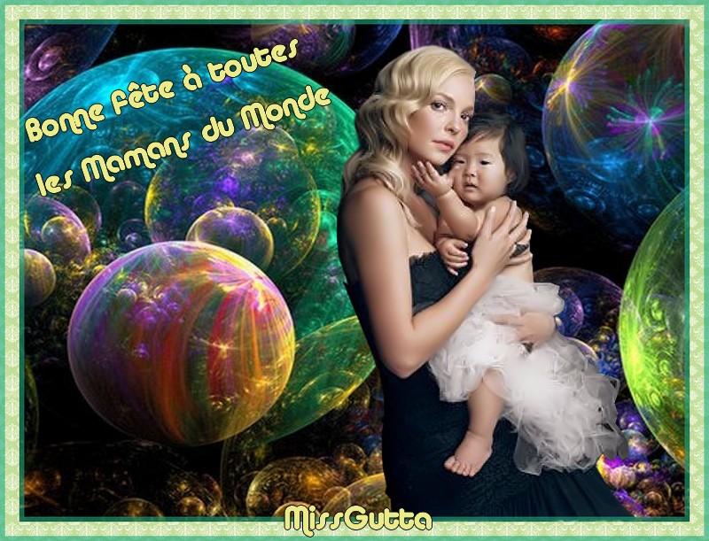 Bonne fête pour les mamans du monde !