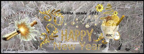 Bonne année - Créa 2021