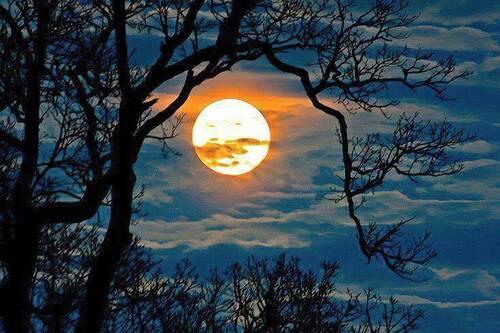 La lune va rougir ce mardi