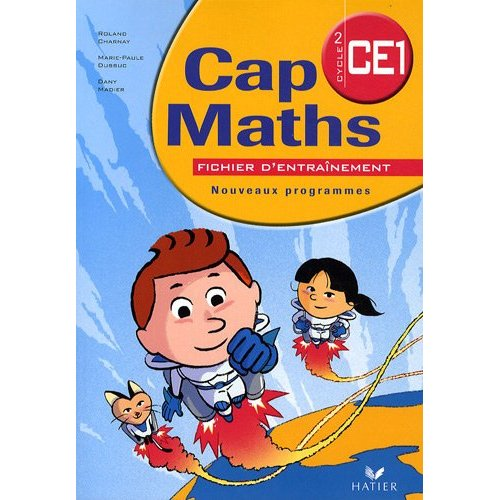 Progressions Cap maths ce1