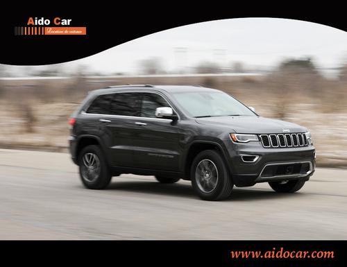 Location de voiture à Casablanca en promotion – La nouvelle Jeep Grand Cherokee Black édition est disponible !