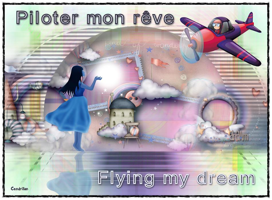 Flying my dream - Renée Graphisme