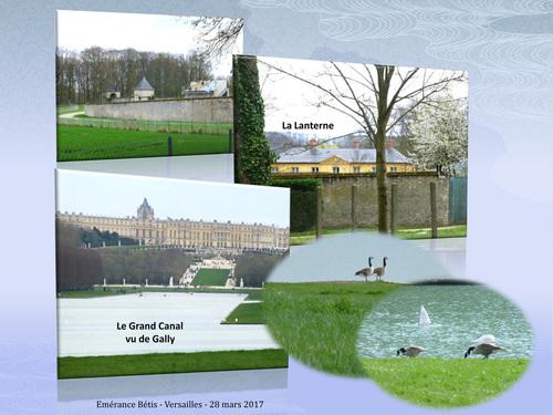 La Lanterne et La Flotille de Versailles