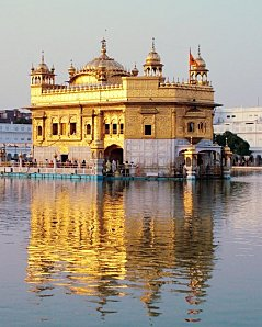 *Amritsar, le Temple d'Or
