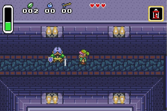 The legend of Zelda A link to the past ss