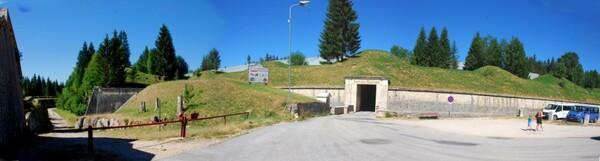 Entrées Susse du fort des Rousses