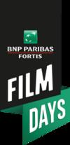 Logo BNP Paribas Fortis FILM DAYS
