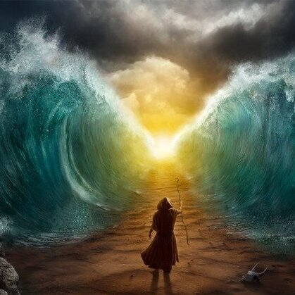 moshé moise mer jonc rouge traversee torah dieu hashem