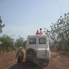 Bénin Parc de la Pendjari les Ivcamper sont prêts pour le safari photos