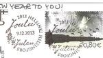 timbre à la saison de Noël