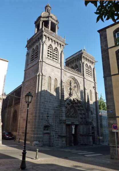 Riom - Eglise Saint Marthuret façade