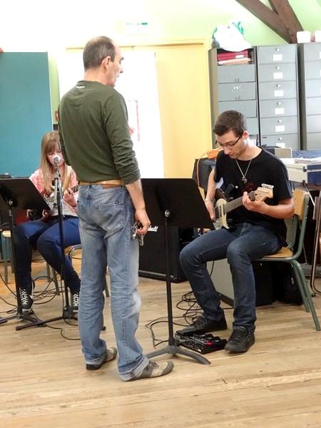 Audition 2013 de guitares électriques, à l'Ecole Municipale de Musique de Châtillon sur Seine