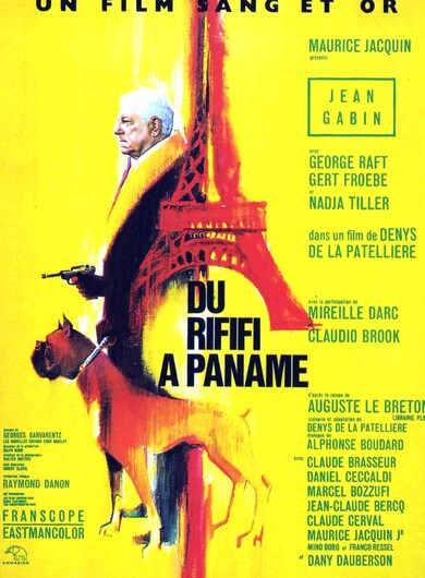 DU RIFIFI A PANAME BOX OFFICE 1966