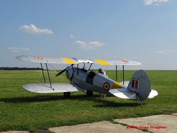 Un super avion belge vu par René Drappier à l'aérodrome....