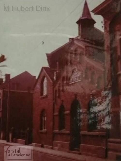 Herstal - Temple antoiniste (fin des années 60)(FaceBook Herstal à l'ancienne)