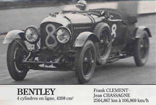 Bentley Le Mans (1923-1929)